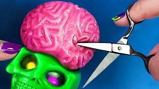 Cirugía Cerebro SQUISHY de HALLOWEEN!