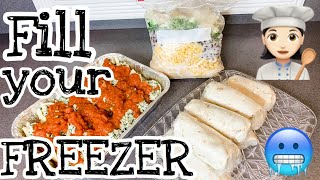 FREEZER MEALS FOR BUSY NIGHTS // 12 MEALS TO FILL YOUR FREEZER // Foodie Friday at Contemporary Mama