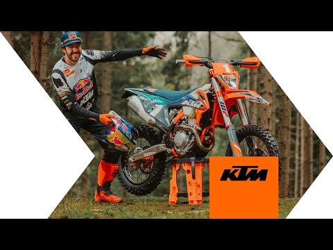 Présentation KTM 350 EXC-F édition WESS 2021