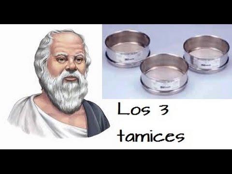 Los 3 tamices de socrates / matt consejero