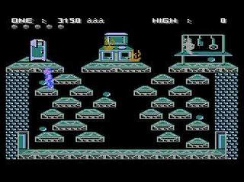Atari 65XE Longplay - Ghost Chaser