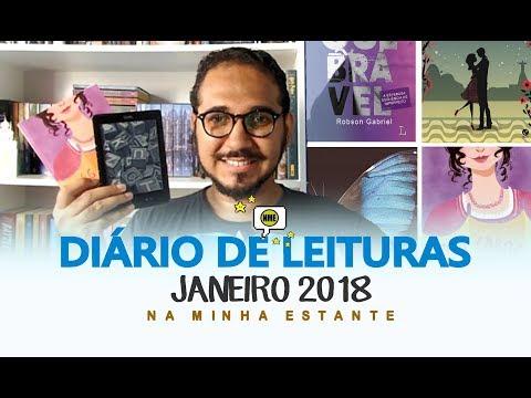 Diário de Leituras: Janeiro 2018 | Na Minha Estante