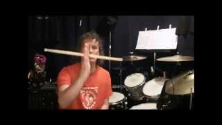 My SUPER EASY drum stick spinning method!