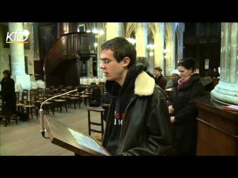 Chapelet pour les cardinaux à Saint-Nicolas-des-Champs
