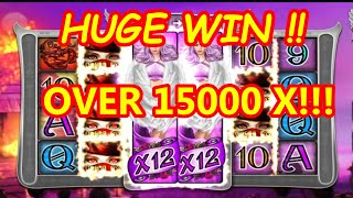 LIL DEVIL HUGE WIN !!! MY BIGGEST WIN EVER OVER 15000X!! HEARTSTOPPER BUILD
