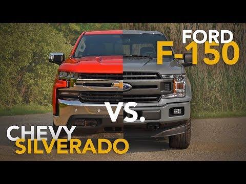 2019 Chevrolet Silverado vs. Ford F-150 Truck Comparison