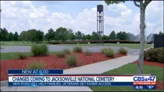 Changes coming to Jacksonville National Cemetery