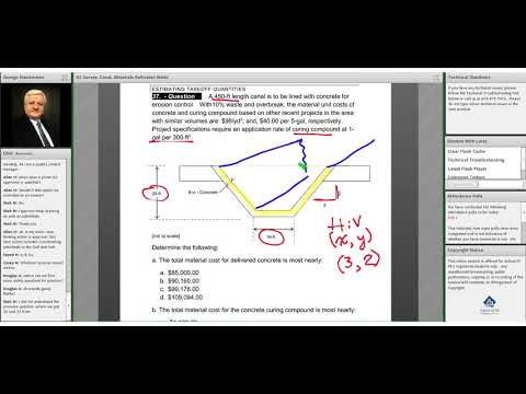A sample problem on FE Civil - Survey, Const, Materials - YouTube