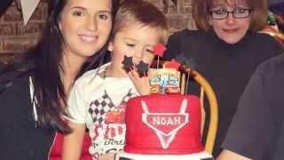 Noahs 3rd Birthday Party!   Disney Cars Theme