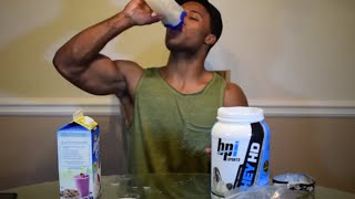 BPI Sports WHEY HD Review! 4 WEEKS OUT...!