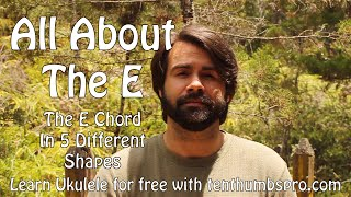 How To Play An E Chord On Ukulele - Beginner Ukulele Tutorial