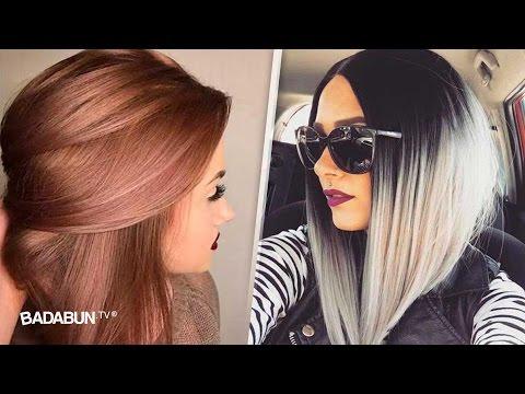 14 colores de cabello que serán tendencia este 2017. Todas amarán el #1