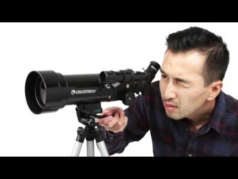 Celestron Travel Scope 70 x 400mm Portable Refractor Telescope