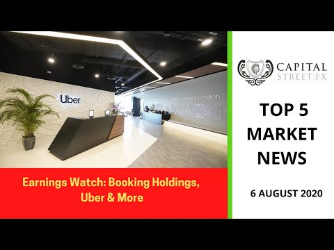 Top Market Event and News of 6 August- Oil Prices, U.S. Dollar, Uber