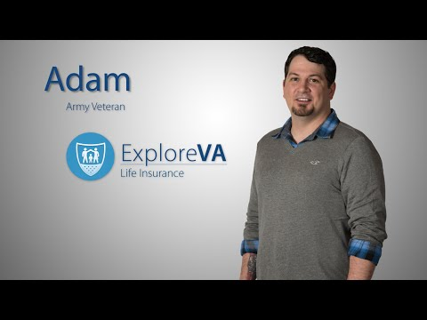 VA life insurance helps ease Adam's mind.