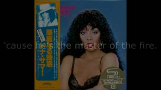 "Donna Summer - My Baby Understands LYRICS SHM ""Bad Girls"" 1979"