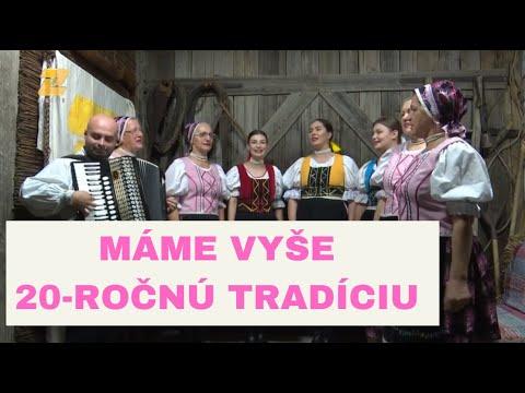 FOLKLÓR NA ZEMPLÍNE - Folklórna skupina Ondavčanka