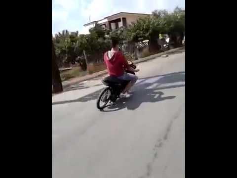 Đó là lần cuối cùng tôi thấy anh ấy chạy xe