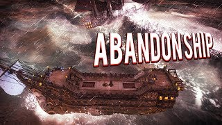SINKING SHIPS IN THE ICE! SAILING IN STORMY WEATHER! ABANDON SHIP GAMEPLAY