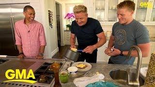 Gordon Ramsay's perfect scrambled eggs tutorial | GMA Digital