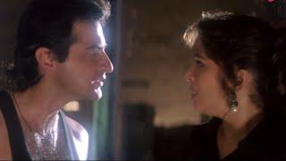 Madhuri Prove's Her Love For Sanjay Kapoor | Raja - Superhit Scene