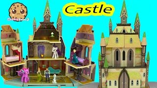 Disney Frozen Giant Castle Of Arendelle Playset with Queen Elsa, Hans & Princess Anna Dancing Dolls