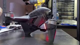 DJI FPV Drone Opening Sound Raw Boom!!