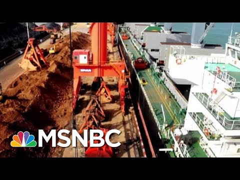 China Threatens To Cut Off Rare Earth Minerals As Trade War Escalates | Velshi & Ruhle | MSNBC