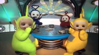 Teletubbies windmill at the window 3 with stop spinning music