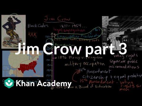 Origins Of Jim Crow The Fourteenth And Fifteenth Amendments Video