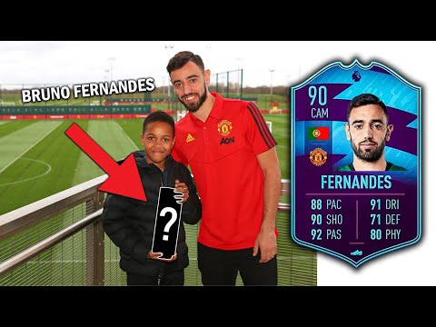 I Went To MANCHESTER UNITED To Give BRUNO FERNANDES THIS…
