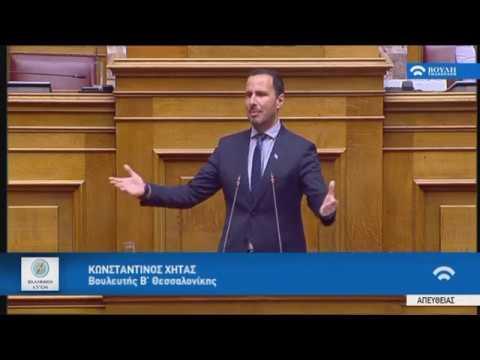 Κ.Χήτας(Ειδικός Εισηγητής ΕΛΛΗΝΙΚΗ ΛΥΣΗ)(Προϋπολογισμός 2020)(14/12/2019)