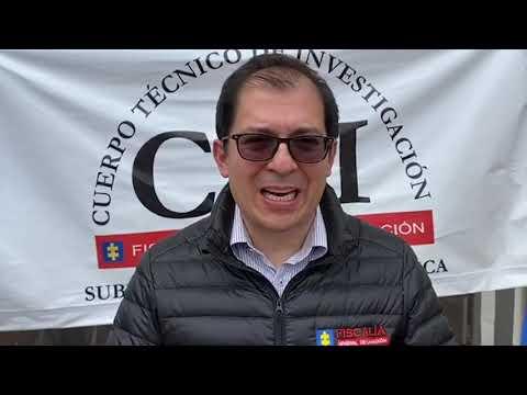 Fiscal General reporta importantes resultados contra la delincuencia y la criminalidad organizada en Cauca
