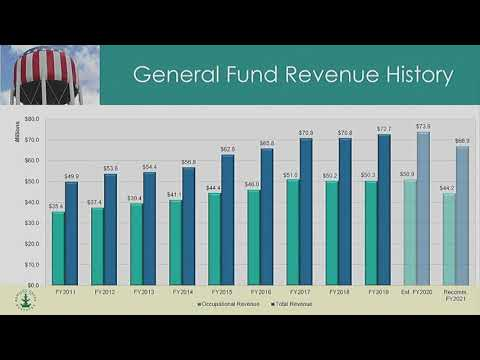 Budget Presentation FY2020 to FY2021