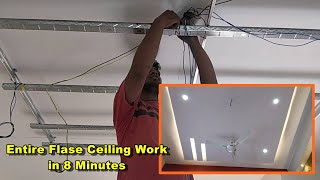 What is false ceiling made of