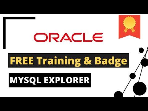 MySQL Explorer Certificate Free   Earn Oracle MySQL badge Free ...