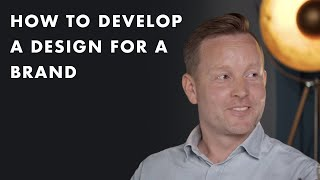 How to develop a design for a brand
