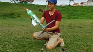 Chế tạo tên lửa nước -  water rocket manufacture