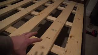 HOW TO BUILD A CUSTOM LOW PRO BOX SPRING FOR CHEAP!