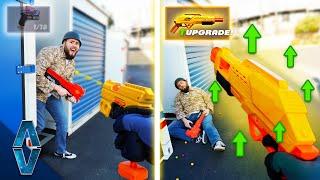 NERF Call Of Duty Gun Game Challenge!