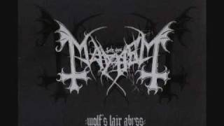 Mayhem - I'm Thy Labyrinth