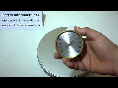 Medir Humedad Higrómetro analógico bimetálico Ø 70mm HB70 Incubadoras, Terrarios