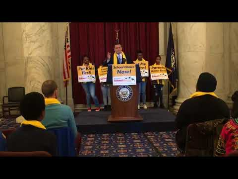 Sen. Cruz Addresses the National School Choice Week Rally - January 18, 2018
