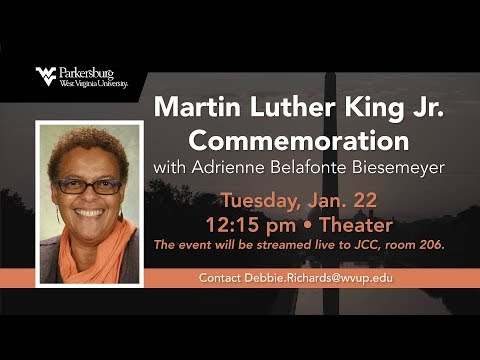 Martin Luther King Jr. Commemoration with Adrienne Belafonte Biesemeyer