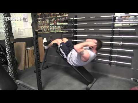 Decline Sit-up - Olympic Weightlifting Exercise Library - Catalyst Athletics