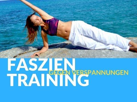 Faszientraining gegen Verspannungen - Physiotherapeutisches Training