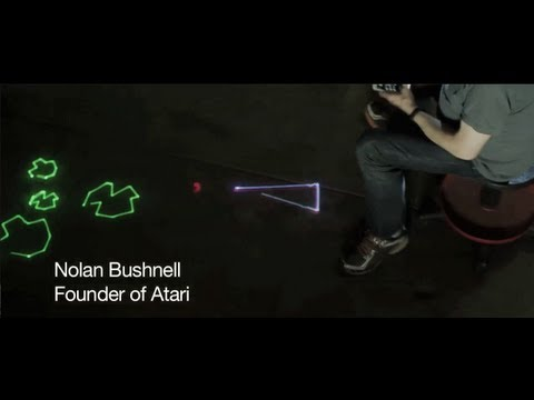 Watch Atari Founder Nolan Bushnell Play Asteroids… With His Body