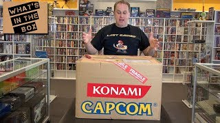 What's In The Box - Ep 18 - Package from Konami & Capcom