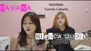 BIANCA JODIE  COVER (HAVANA) INDONESIAN IDOL 2018.