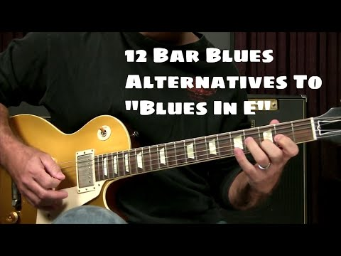 Blues Guitar Lesson: Alternatives To The